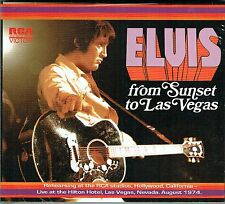 Elvis Presley From Sunset to Vegas - FTD 83 New / Sealed CD - DELETED