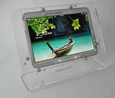 Galaxy Tab 3/4 10.1 Clear Desktop Stand for Kiosk, Show Store Display, Pos