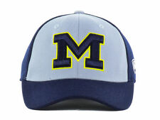 Michigan Wolverines NCAA Top of the World Navy Gray Flex Fit Hat Cap OSFM