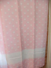 Shower Curtain Love Hearts   Design BNIB