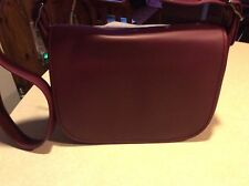 Coach  Saddle bag glove tanned dark burgundy 55298 NWT 395