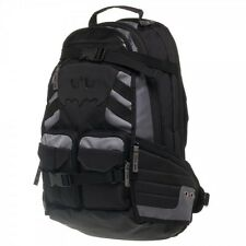 Batman Better Build Black Tactical Backpack ~ Sturdy ~ Brand New ~ Authentic