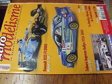 µ?a Revue Auto Modelisme n°106 Sport Proto moteur Aston Martin Renault R25 F1