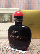 Vintage 60-70s JOY Jean Patou 1/4 oz 7.5 ml Pure Parfum SEALED Boxed OLD FORMULA