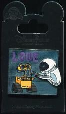 Walle Wall-E and Eve 'Love' Love Disney Pin 106482