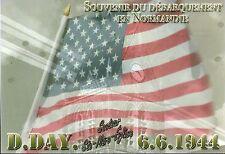 WW2  - CP - D.DAY 6.6.1944 -Le Drapeau américain à Sainte-Mère-Eglise