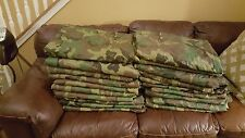 9 Poncho Liner Woobie Blanket US Military Issue Woodland Camo BDU Wet Weather