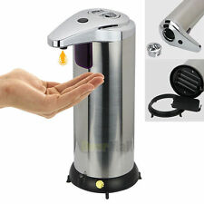 Stainless Steel Handsfree Automatic IR Sensor Touchless Soap Liquid Dispenser FE