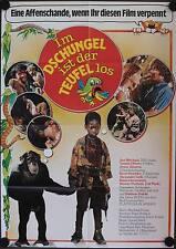 Im Dschungel ist der Teufel los Kinoposter A1 Thomas Tommi Ohrner René Strickler