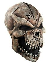 LUXURY SKELETON~FULL MASK MASK SKULL DEVIL HALLOWEEN ZOMBIE DEAD COSTUME