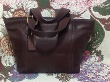 Coach Waverly #4133 Walnut Brown Leather Shopper/Tote Satchel~Never Carried~USA
