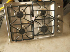 "GE - 30"" Built-In Gas Cooktop -  Stainless Steel  -  JGP945SEKSS"