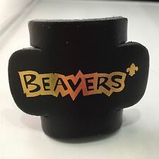 Beaver Leather Woggle Black Scouts