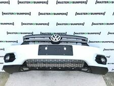VW TIGUAN CROSS 2012-2015 FRONT BUMPER COMPLETE IN WHITE [V202]