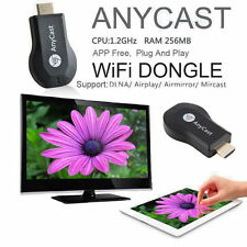 Anycast M2+Mirascreen Allcast Easycast Fullcast IOS Android TV Dongle Netflix US