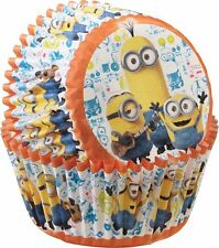 50 Minions Baking Cups Paper Cupcake Tools Cake Decorating Supplies Birthday