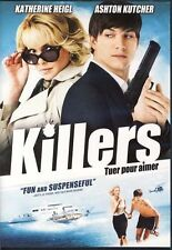 Killers (DVD, 2010) Ashton Kutcher, Katherine Heigl