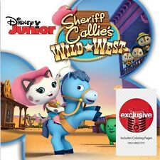 Disney Junior Sheriff Callie's Wild West Audio CD Target Exclusive NEW