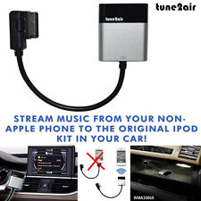 iPhone Android Wireless Bluetooth Music Streaming Adaptor for Audi/VW/Mercedes
