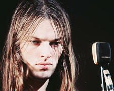 Pink Floyd Color 11x17 Mini Poster David Gilmour and microphone