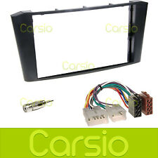 Toyota Avensis T25 Double Din Fascia Panel Stereo Surround Adaptor Radio Kit