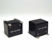 2x Mini Audio Übertrager 5950-00-911-9175, NF-Transformator 1778, 60er J., NOS