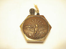 RARE, WW-1  OR EARLIER U.S. MILITARY DESIGN BRASS  TRENCH STYLE LIGHTER #1-M