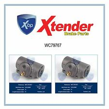 WC79767 Rear Brake Wheel Cylinder Set For Chevy Truck C50,C3500,C2500 Suburban