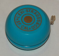 Levi Strauss Blue Yoyo RARE Collectible Toy VTG Jeans Company Memorabilia