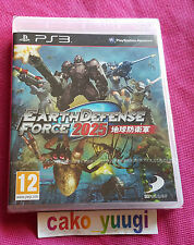 EARTH DEFENSE FORCE 2025 SONY PS3 NEUF SOUS BLISTER 100% FRANCAIS