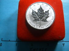 2001 SNAKE ZODIAC PRIVY CANADA MAPLE LEAF $5 9999 SILVER COIN RARE COOL ITEM BOX
