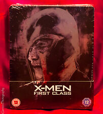 X-Men: First Class Limited Edition Steelbook Blu-Ray NEW