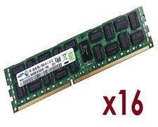 16x 8GB 128GB RDIMM ECC REG DDR3 1333 MHz Speicher f DELL PowerEdge R715 R815
