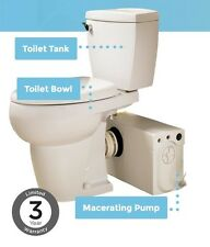 Thetford COMPLETE PRO SYSTEM W/ ELONGATED BOWL, BATHROOM ANYWHERE  WHITE 38936