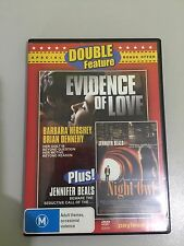 EVIDENCE OF LOVE + NIGHT OWL DVD 2 MOVIES ON 1 DISC