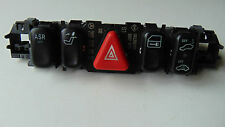 MERCEDES W202 C230 WARNING LIGHT / DOOR / ASR / SEAT SWITCHES