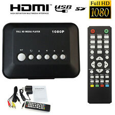 HD 1080P USB Hard Drive Multi Media Player MKV AVI RMVB DivX HDMI Out & Remote