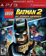 LEGO Batman 2: DC Super Heroes [PlayStation PS3, Greatest Hits] Brand NEW