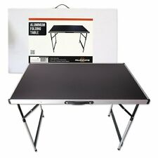 Camping / Picnic Aluminium Folding Table Lightweight Height Adjustable Portable