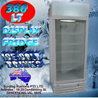 EUROTAG 380LT COMMERCIAL DRINKS DISPLAY FRIDGE EU-380 RRP$1349.00 BRAND NEW