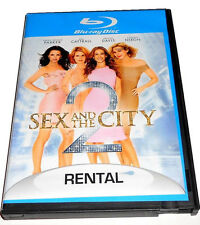SEX AND THE CITY 2 DVD BLU-RAY DISC FORMER RENTAL SUPER FAST SHIPPING