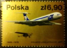 POLAND-STAMPS MNH Fi2455 SC2313 Mi2602 - Airlines -1979,clean