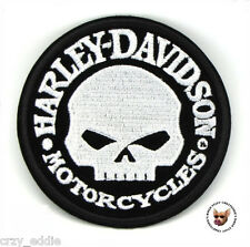 HARLEY DAVIDSON WILLIE G SKULL VEST PATCH **MADE IN USA** DEATH SKULL