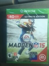 Brand New!!! Madden NFL 15 Ultimate Edition (Xbox One, 2014) Factory Sealed!!!