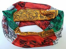 Prayer flag Dreadlock Headband/dread sock/wrap - Lightweight, soft, comfortable