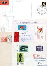 DDR, Lot, 10 Briefe / Karten !