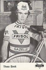 THEO SMIT Cyclisme 70s Ciclismo FRISOL Gazelle Cycling wielrennen cycliste vélo