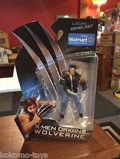 """2009 X-Men Origins Wolverine 4"""" Inch Figure MOC - WALMART ONLY LOGAN"""