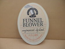 Box Steam Brewery Funnel Blower Ale Beer Pump Clip face Bar Collectible 76
