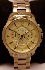Fossil Watch Model. FS4724 Men's Chronograph Gold Tone Stainless Steel